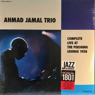 - AHMAD JAMAL TRIO Complete Live At The Pershing Lounge 1958 Green Corner