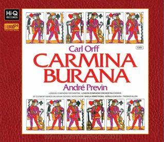 - Carl Orff CARMINA BURANA André Previn XRCD24