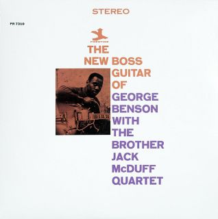 - GEORGE BENSON, THE BROTHER JACK MCDUFF QUARTET - THE NEW BOSS GUITAR