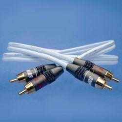- Kabel - Supra Dual RCA 1m